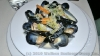 Mussels with cream shallot sauce