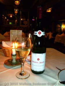 Alsace Riesling Dopff &amp; Irion Gewrztraminer 2008
