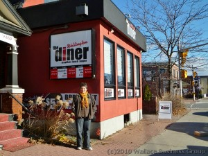 Wellington Diner in Westboro